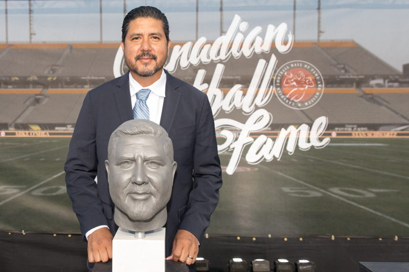 Anthony Calvillo, Canadian Football Hall of Fame Class of 2017. Photo credit: Kevin Sousa/CFL