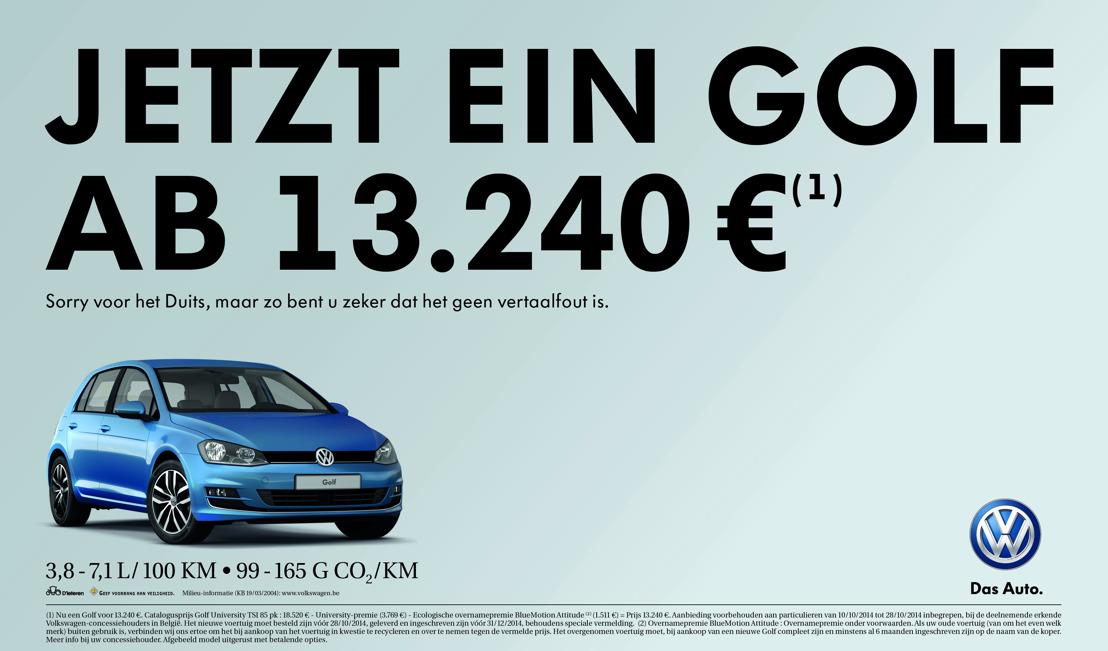 DDB in het Duits voor Volkswagen