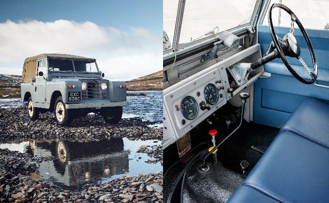1958 - Land Rover Series II (RAF Blue Vinyl)