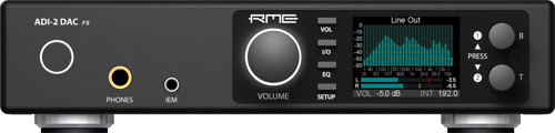 RME presents ADI-2 DAC: A 2-channel DA Converter for Studio Professionals and HiFi enthusiasts