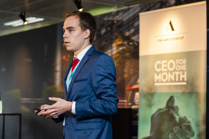 Belgische student finalist om internationale CEO te worden