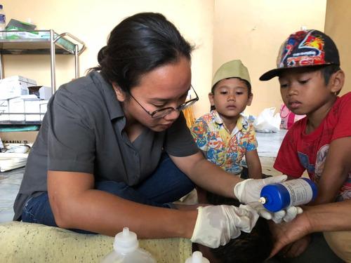 Indonésie : Les activités médicales ont débuté à Sulawesi