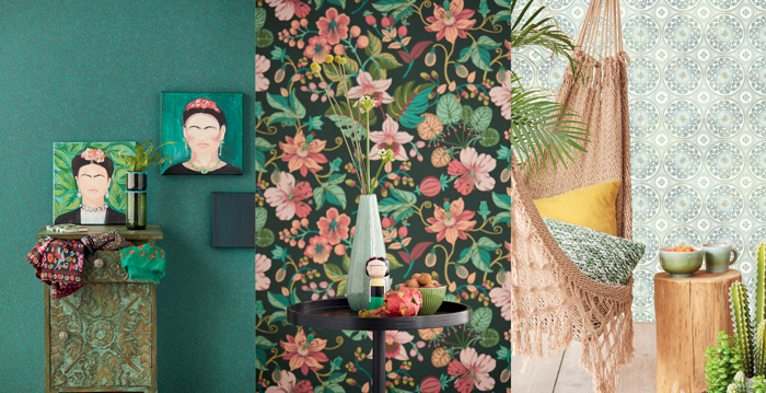 Carmen van Eijffinger geeft een instant kleurboost aan je interieur