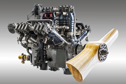 ŠKODA Museum presents an extraordinary exhibit: the W12 aircraft engine by Laurin & Klement