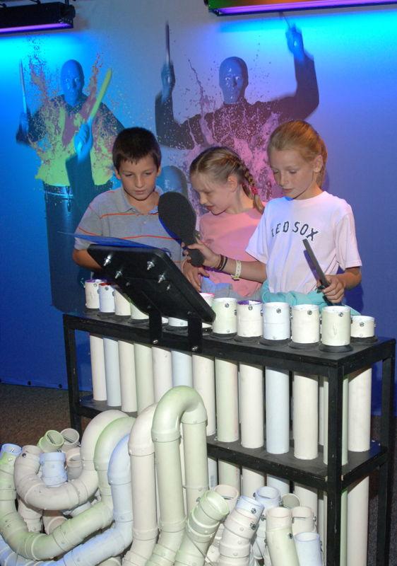 PVC Station (Photo Credit: Boston Children's Museum)