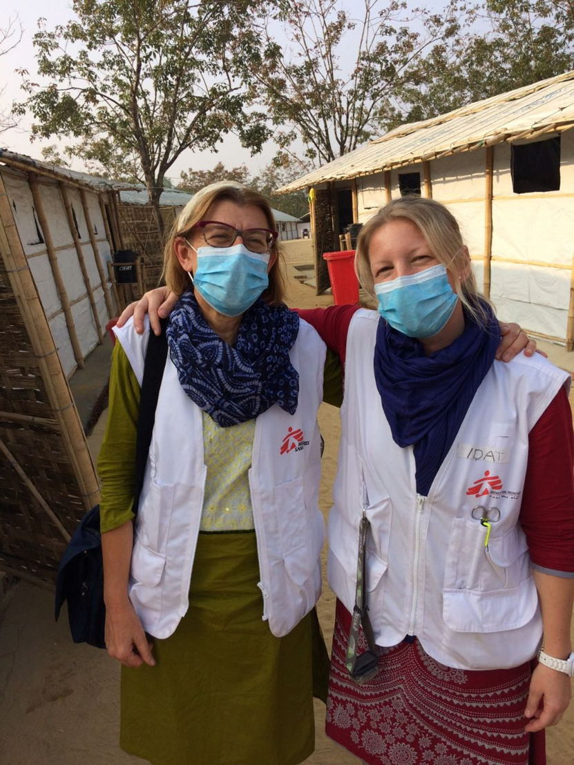 Rosie Burton, a British doctor based in South Africa has just returned from one month in Bangladesh, where she was working in a diphtheria treatment centre run by MSF. Photographer: MSF