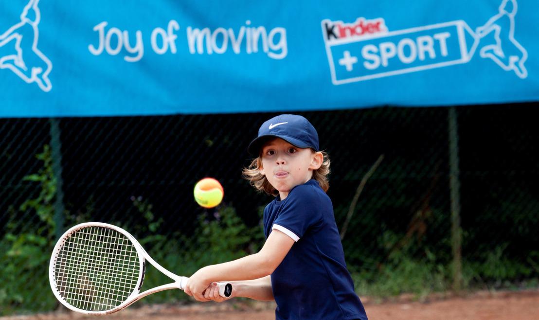 Kinder+Sport тенис трофей 2019: Радостта от движението достига световни измерения