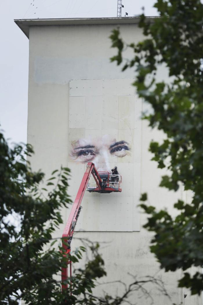 L'Echo et FamousGrey peignent le visage de la nouvelle Wallonie sur les vestiges de l'ancienne
