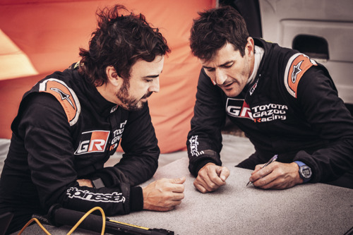 DAKAR VETERAN MARC COMA JOINS FERNANDO ALONSO AT TOYOTA GAZOO RACING