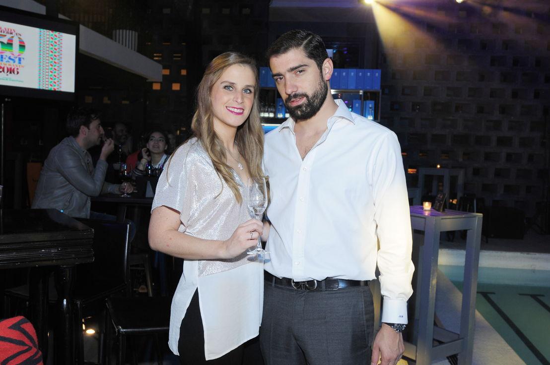 Alejandra Pérez y Jorge  Gaitán