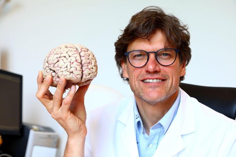 Le neurologue Steven Laureys