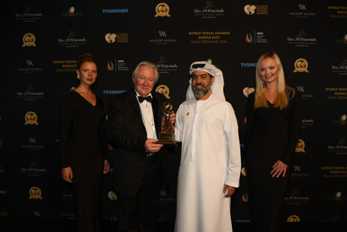 Emirates scoops four awards at the World Travel Awards Middle East 2018