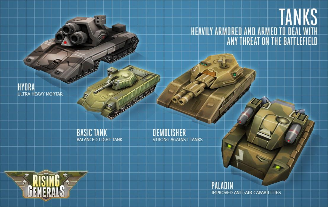 Tank Concepts Rising Generals