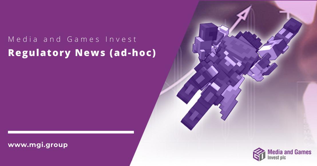 Media and Games Invest plc plant Privatplatzierung und beantragt Zweitnotierung am Nasdaq First North Premier Growth Market in Stockholm