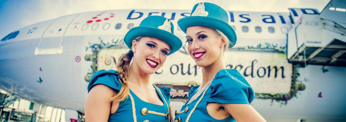 80 Brussels Airlines party flights voor Tomorrowland [Fotoreportage]