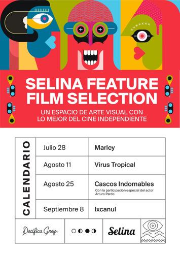 Selina proyectará 4 películas en su ciclo Feature Film Selection