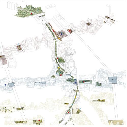 La Ville de Bruxelles désigne le bureau Bas Smets pour le Masterplan « les Coteaux du Pentagone »