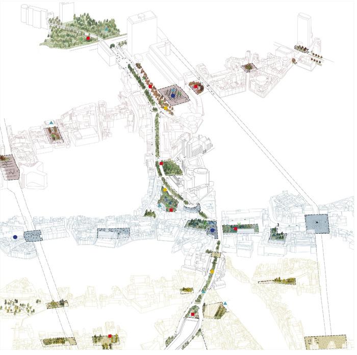 Preview: La Ville de Bruxelles désigne le bureau Bas Smets pour le Masterplan « les Coteaux du Pentagone »