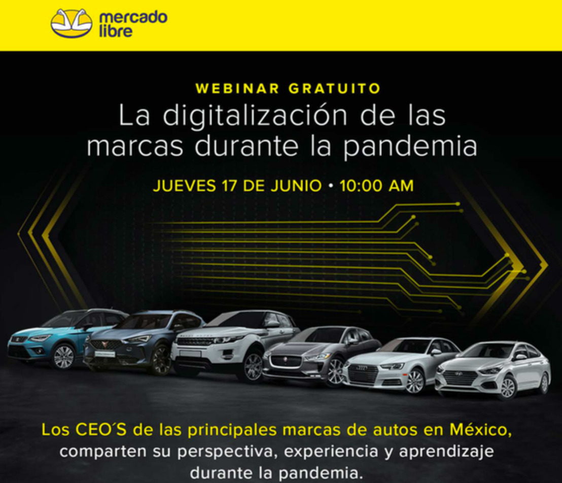 Mercado Libre reúne a 4 colosos automotrices en un mismo espacio con el panel: 'La digitalización del mercado automotriz tras la pandemia'
