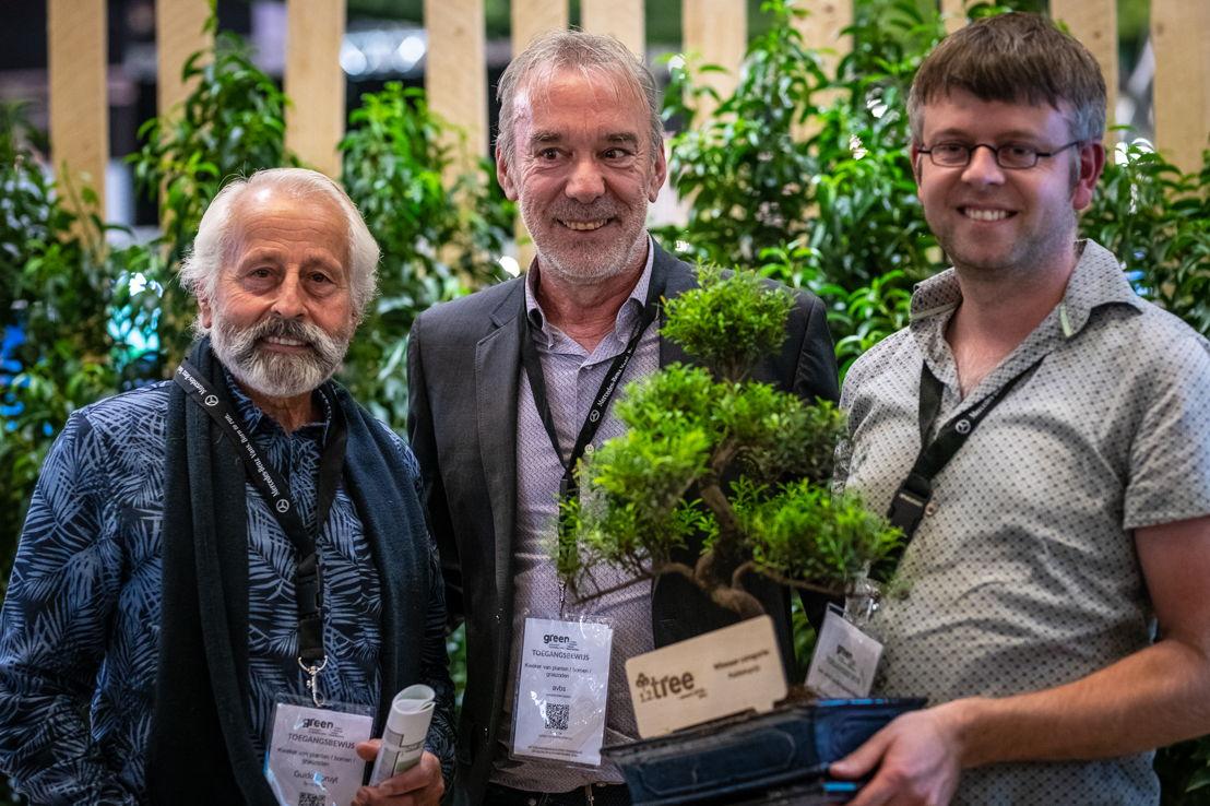 1.2.Tree Award Winnaar publieksprijs: Guido Spruyt, Lucien Verschore, Stanny Van Gysel  © Green