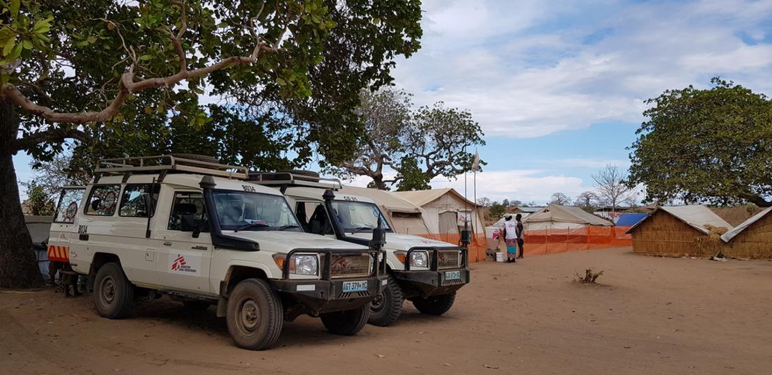"""""""Hemos visto a personas desplazadas en estado crítico con heridas graves que ponen en peligro su vida"""""""