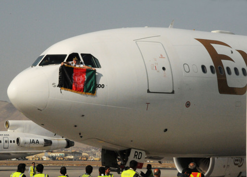 Emirates marks one year of service in Kabul