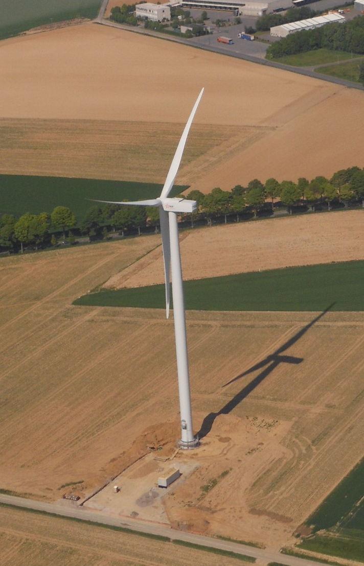 éoliennes à Spy