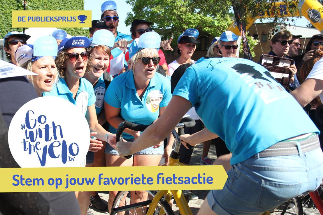 Stem op jouw favoriete fietsactie!