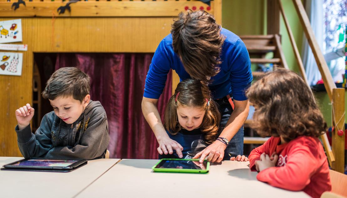 Les entreprises anversoises donnent un coup de pouce à la numérisation de l'enseignement