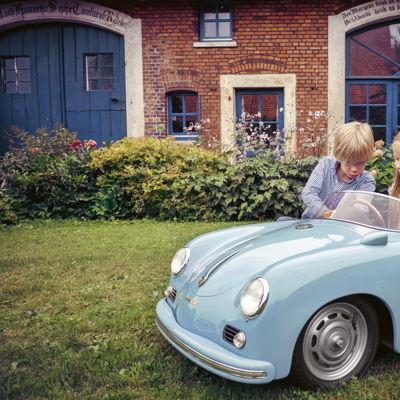 Porsche 356 Speedster en miniatura