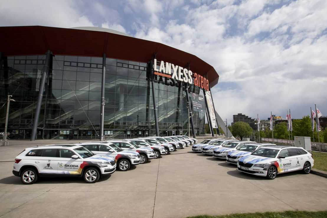 The ŠKODA fleet for the IIHF includes the ŠKODA OCTAVIA, SUPERB and KODIAQ models. The Czech car manufacturer is supporting the major sporting event, which will take place in Cologne (photo) and Paris from 5-21 May, as its main sponsor and vehicle partner for an impressive 25th time.