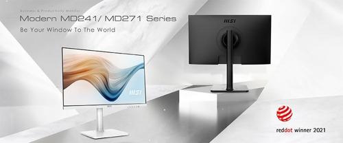 Die MSI-Monitor-Serien MD241 und MD271 gewinnen den Red Dot Design Award