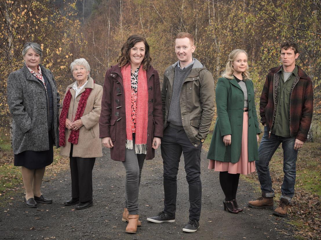 Rosehaven Cast -Barbara (Kris McQuade), Mrs Marsh (Noela Foxcroft), Emma (Celia Pacquola), Daniel (Luke McGregor), Grace (Katie Robertson), Damien (David Quirk)