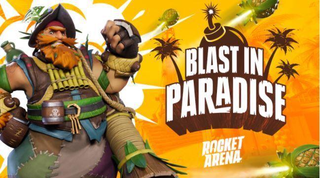 L'événement Explosion au paradis de Rocket Arena est maintenant disponible