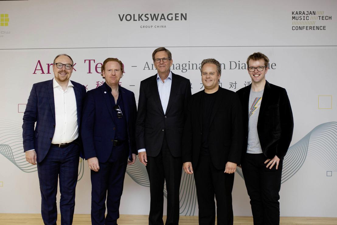 """Volkswagen realiza el Panel """"Art x Tech"""" en Beijing"""