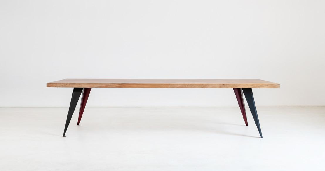 Drie Gentse broers lanceren unieke tafels gemaakt van oude, afgedankte boomstammen