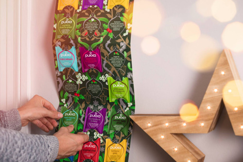 Preview: PUKKA décompte les jours qui nous séparent d'un Holly Jolly Christmas avec un calendrier de l'avent et soutient par la même occasion Natagora