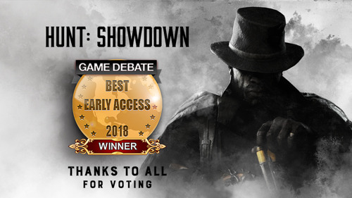 Hunt: Showdown Wins Best Early Access in 2018 Game Debate Awards