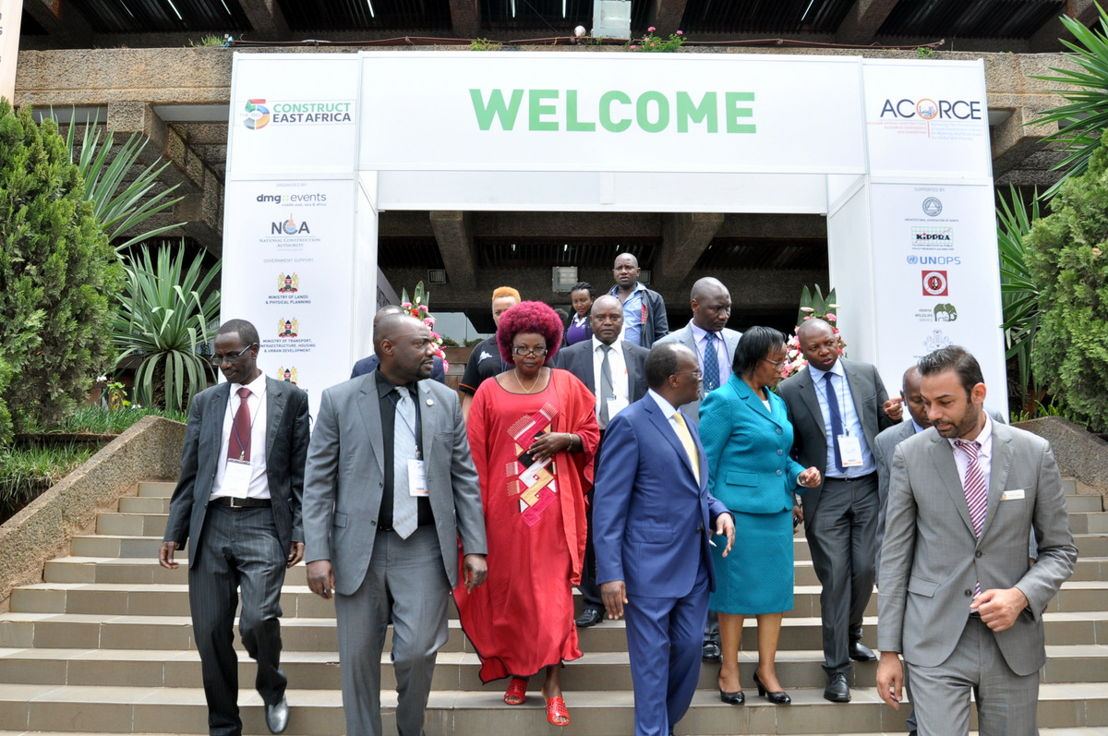 Opening of The Big 5 Construct East Africa 2016