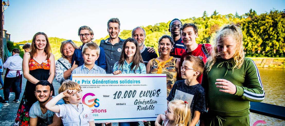Générations solidaires : découvrez les lauréats 2018
