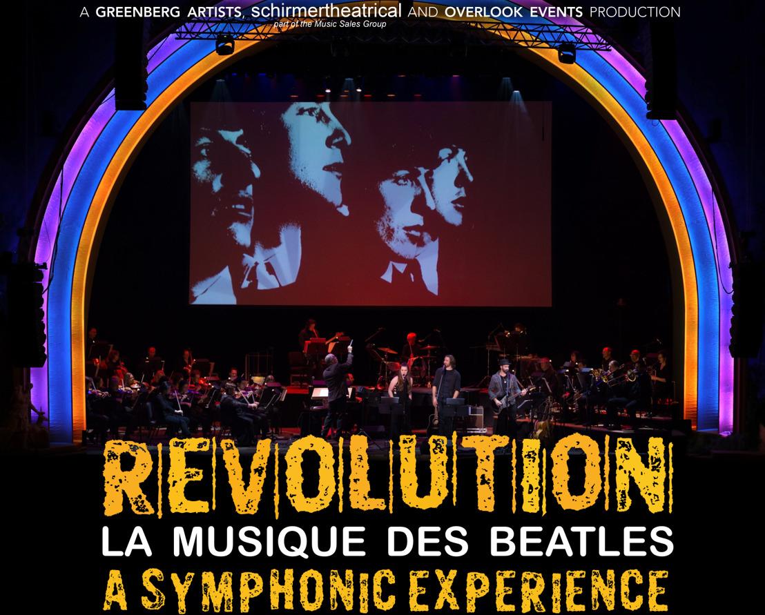 REVOLUTION : La musique des Beatles avec un orchestre symphonique
