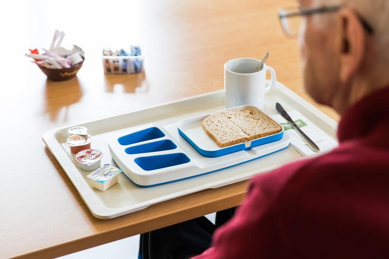 Theomatik - tafelhulpmiddel - Boonen Design Studio voor JESSA ziekenhuis vzw - Henry van de Velde Healthcare Award Nominee