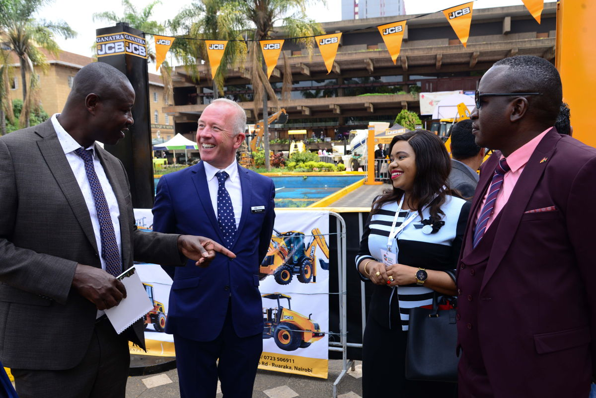 Eng. Maurice Akech, Executive Director National Construction Authority and Senior Vice President at event organiser dmg events Ben Greenish