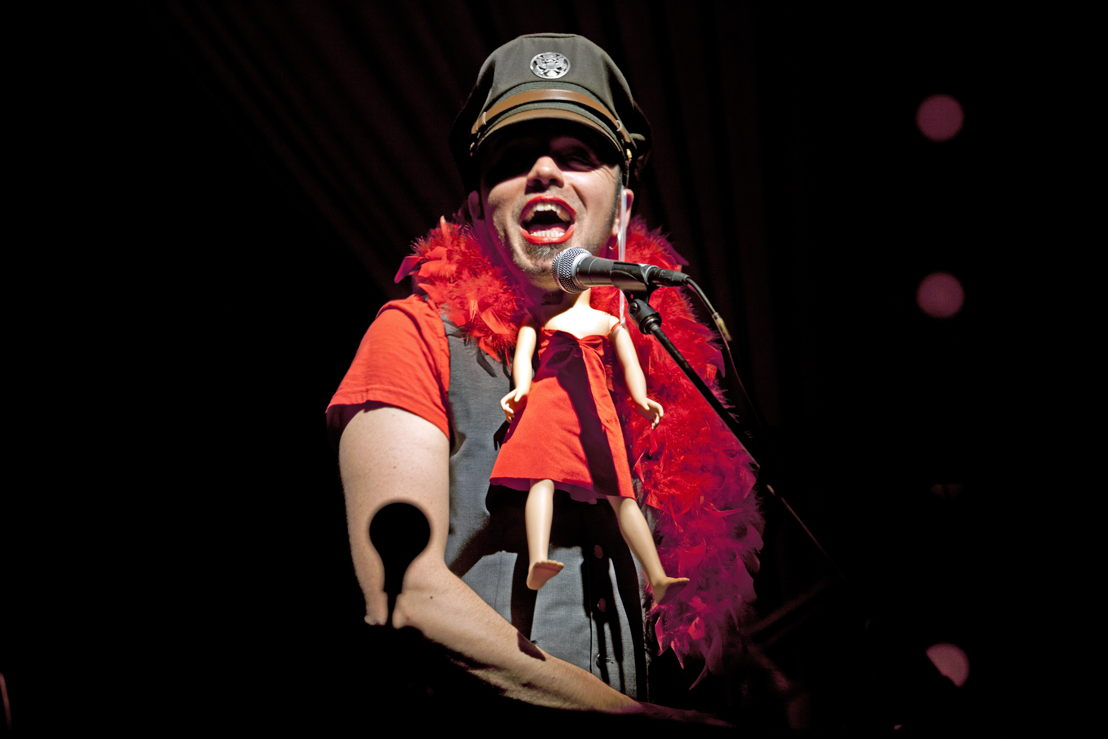 Hawksley Workman in The God That Comes / Photo by Trudie Lee