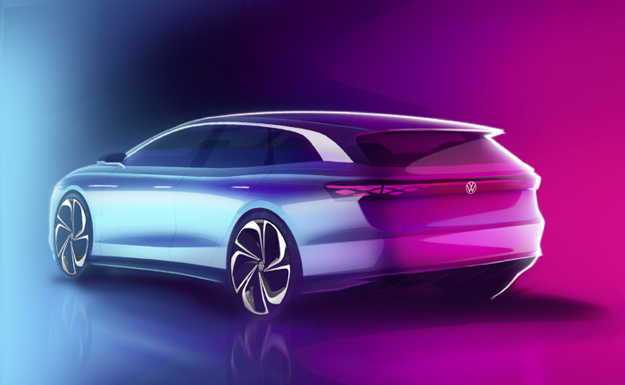New electric family member: ID. SPACE VIZZION will be presented at the Los Angeles Auto Show