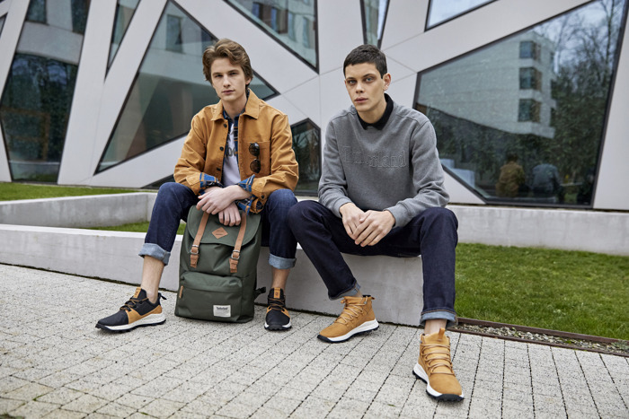 Timberland FW19 Apparel Outdoor: Campaign Images