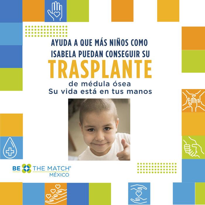 Preview: Be The Match® México busca recaudar 5 millones de pesos para apoyar a pacientes que necesitan un trasplante de médula ósea.