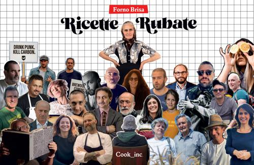 Esce Ricette Rubate, il primo libro di Forno Brisa