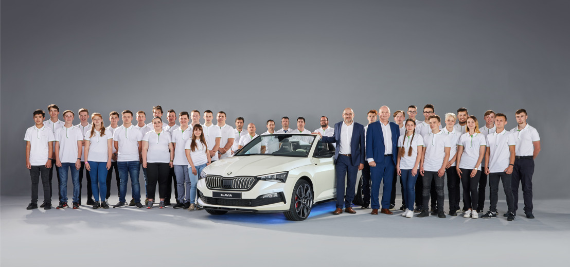 Wild, open and carefree: The ŠKODA SLAVIA is the seventh Student Concept Car
