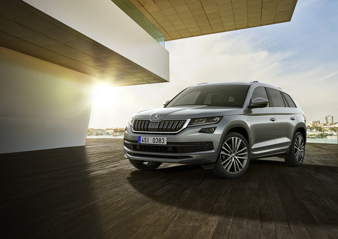 ŠKODA KODIAQ L&K: Top version of the large SUV celebrates world premiere in Geneva